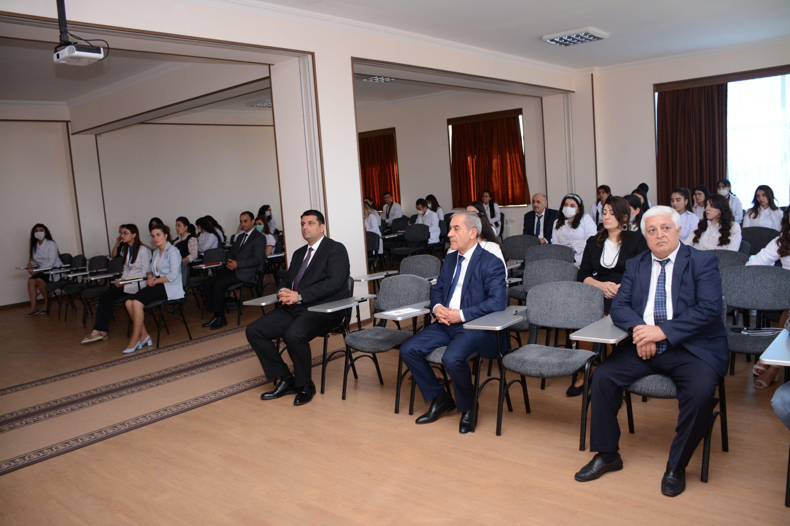 Naxçıvan Dövlət Universitetində 29 Sentyabr Dünya Ürək günü qeyd olunub