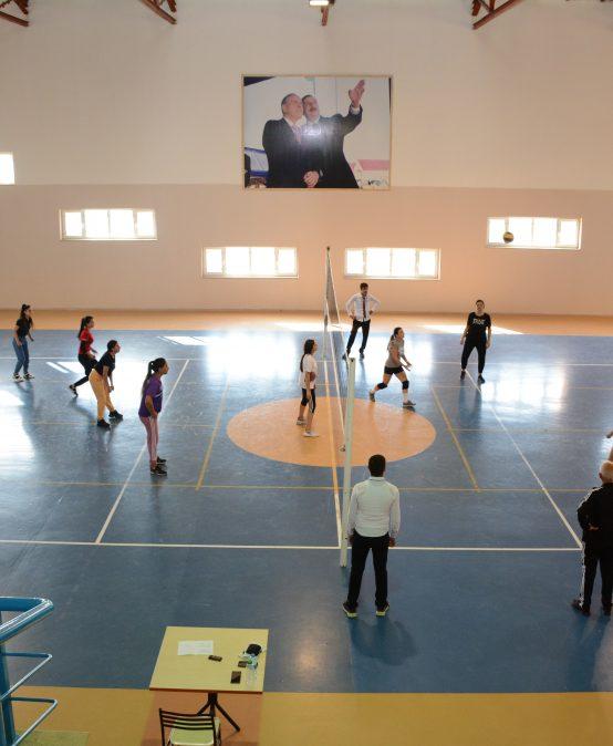 Naxçıvan Dövlət Universitetində idmançılar üçün seminar-treninq keçirilib