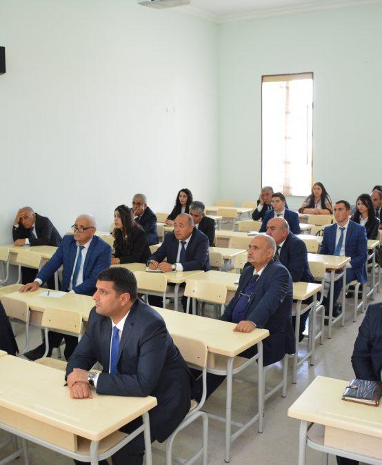 Naxçıvan Dövlət Universiteti Memarlıq və mühəndislik fakültəsində bir ilk-elektron jurnal istifadəyə verilib