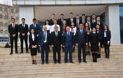 Naxçıvan Dövlət Universitetinin professoru Nazim Əhmədovun monoqrafiyalarının təqdimatı keçirilib