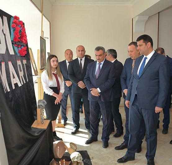 Naxçıvan Dövlət Universitetində 31 mart Azərbaycanlılarının soyqırımı günü qeyd edilib