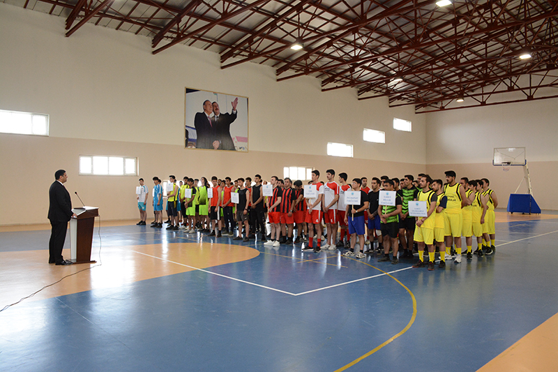 Naxçıvan Dövlət Universitetinin XV Universiadasının açılış mərasimi keçirilib