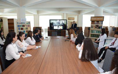 Naxçıvan Dövlət Universitetində 4 aprel – Ümumdünya internet günü qeyd edilib