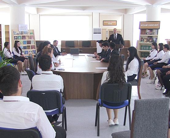 Naxçıvan Dövlət Universitetində dəyirmi masa təşkil edilib